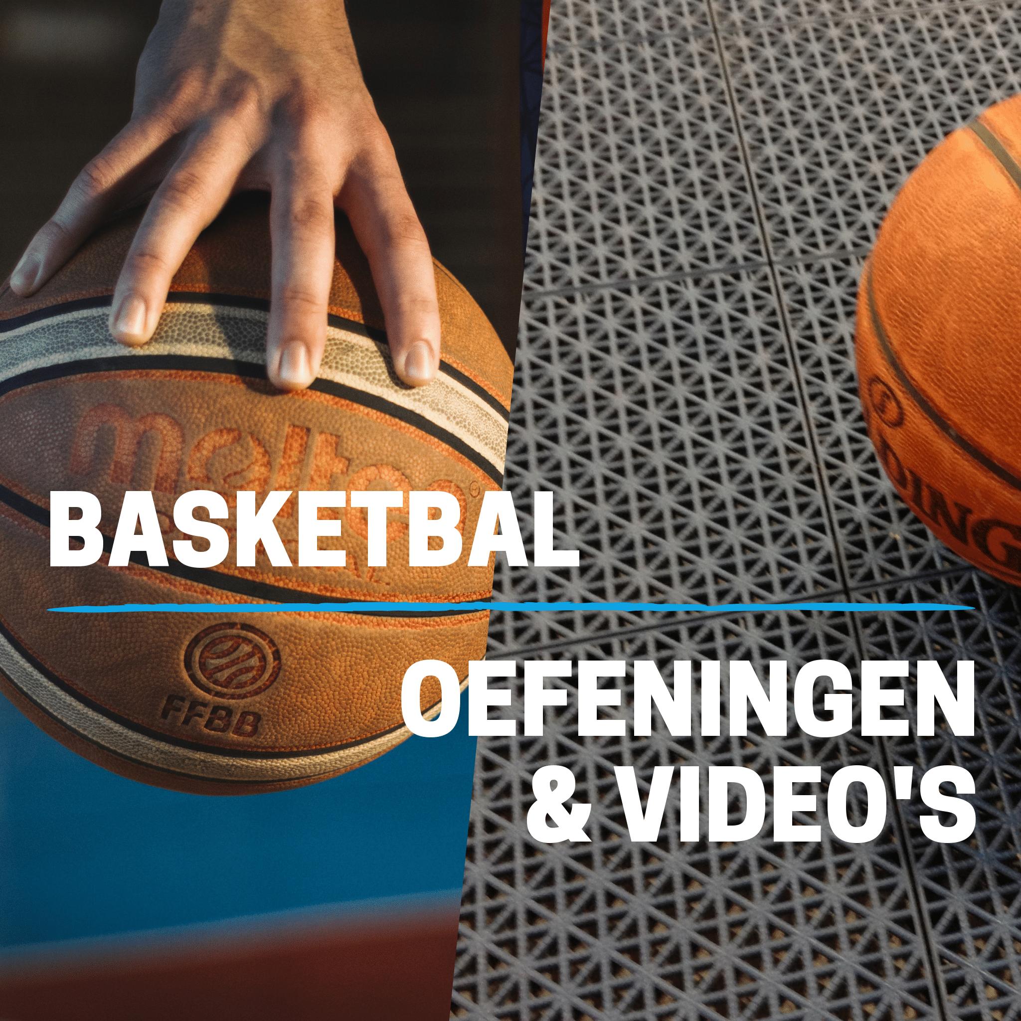 Demo basketbal voor 1 maand