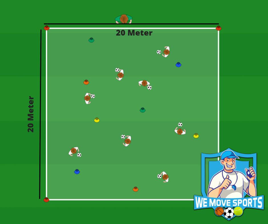 Voetbal oefeningen jo6