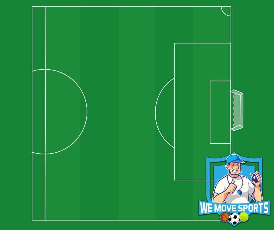 Voetbal - Half veld rechts